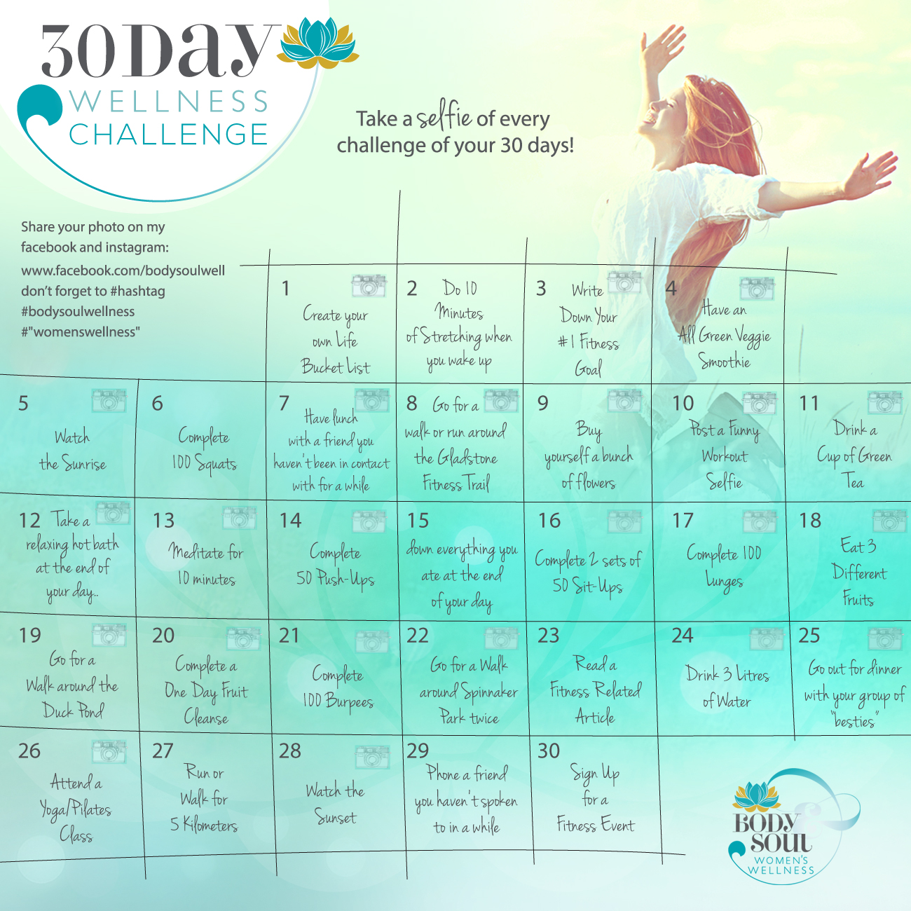 30 day of wellness